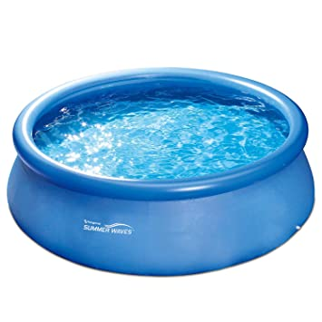 Summer Waves Fast Set Quick Up Piscina 366 x 91 cm swimming pool Familias Piscina con bomba de filtro