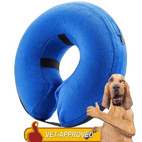 Homesupplier - Collar hinchable para perros y gatos, aprobado por ...