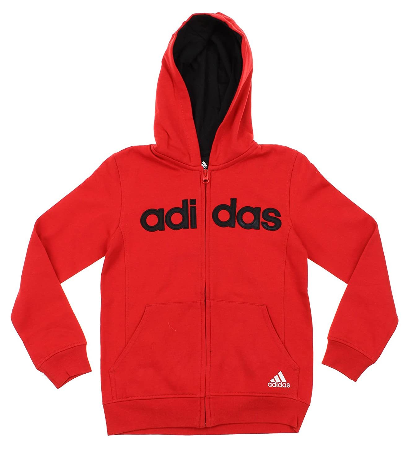 Adidas Big Boys Youth Uptempo Full Zip Fleece Hoodie, Color Options