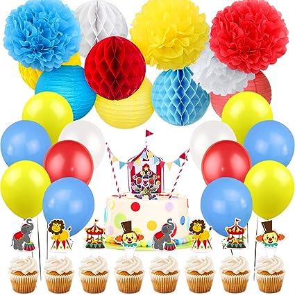 Amazon.com: Kreatwow - Decoración para tartas de cumpleaños ...