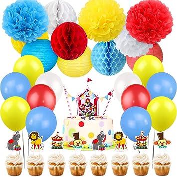 Kreatwow Carnaval Circo Decoraciones para Fiestas ...