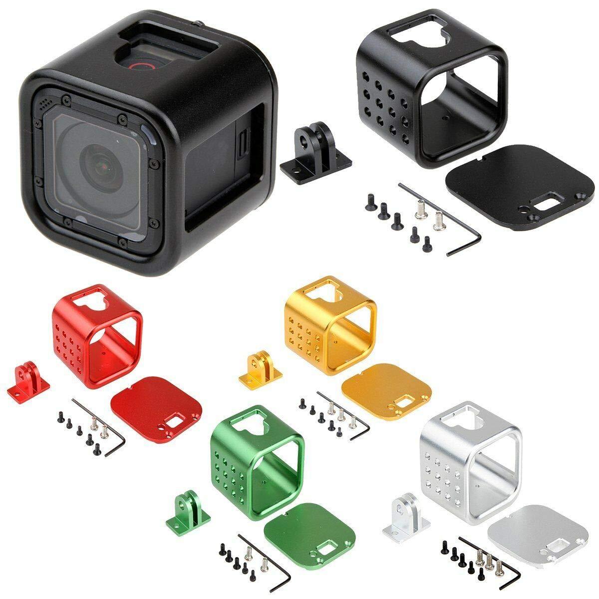 Studyset CNC Carcasa Protectora de Aluminio para GoPro Hero 4 5 Session
