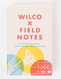 product image for Field Notes: Wilco - 6 Pack - Dot-Graph Memo Books, 3.5 x 5.5 Inch