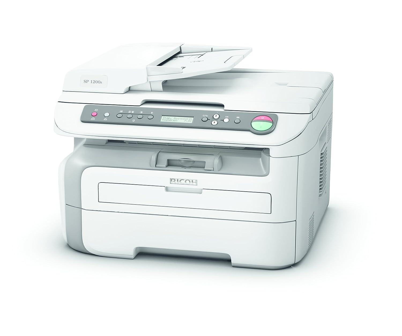 Ricoh Aficio SP 1200S - Impresora Multifuncional láser blanco y ...
