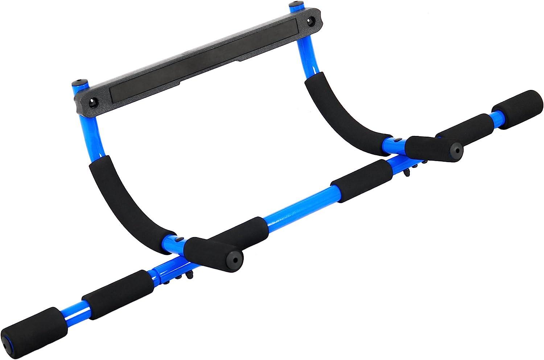 97/x/40/x/16/cm Bleu//noir FA Sports Trioway Barre de traction pour porte