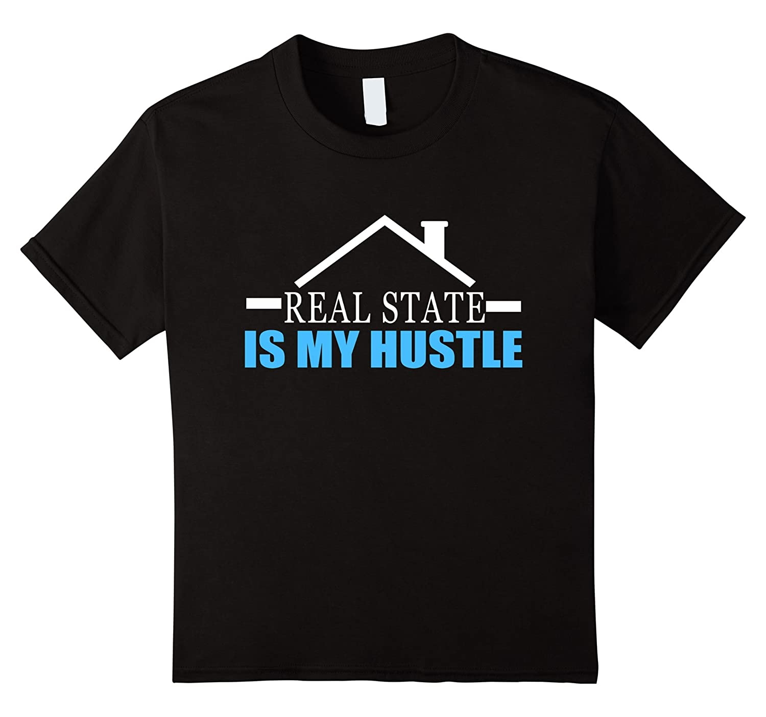 Womens Real Estate Hustle T Shirt-Awarplus