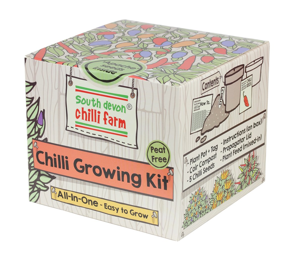 Chilli Growing Kit South Devon Chilli Farm