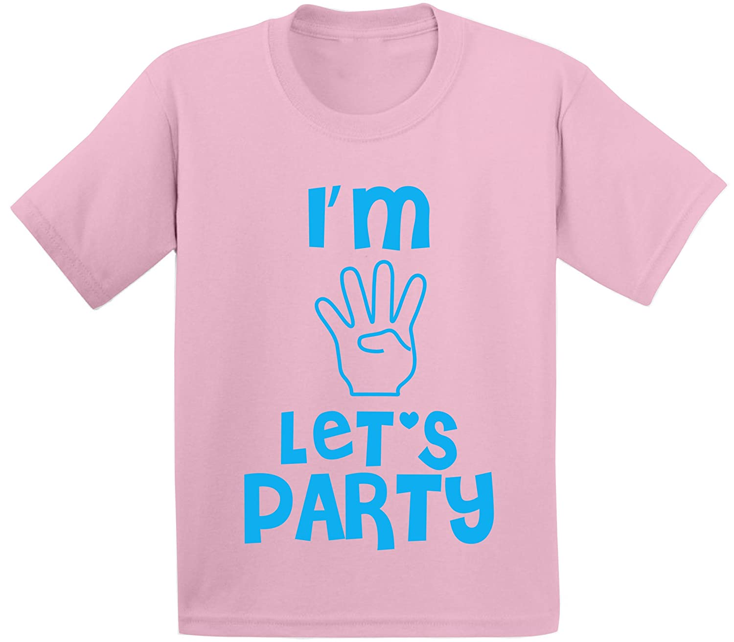 Awkward Styles Im Four Lets Party Toddler T Shirts Infant T Shirts 4 Year olds