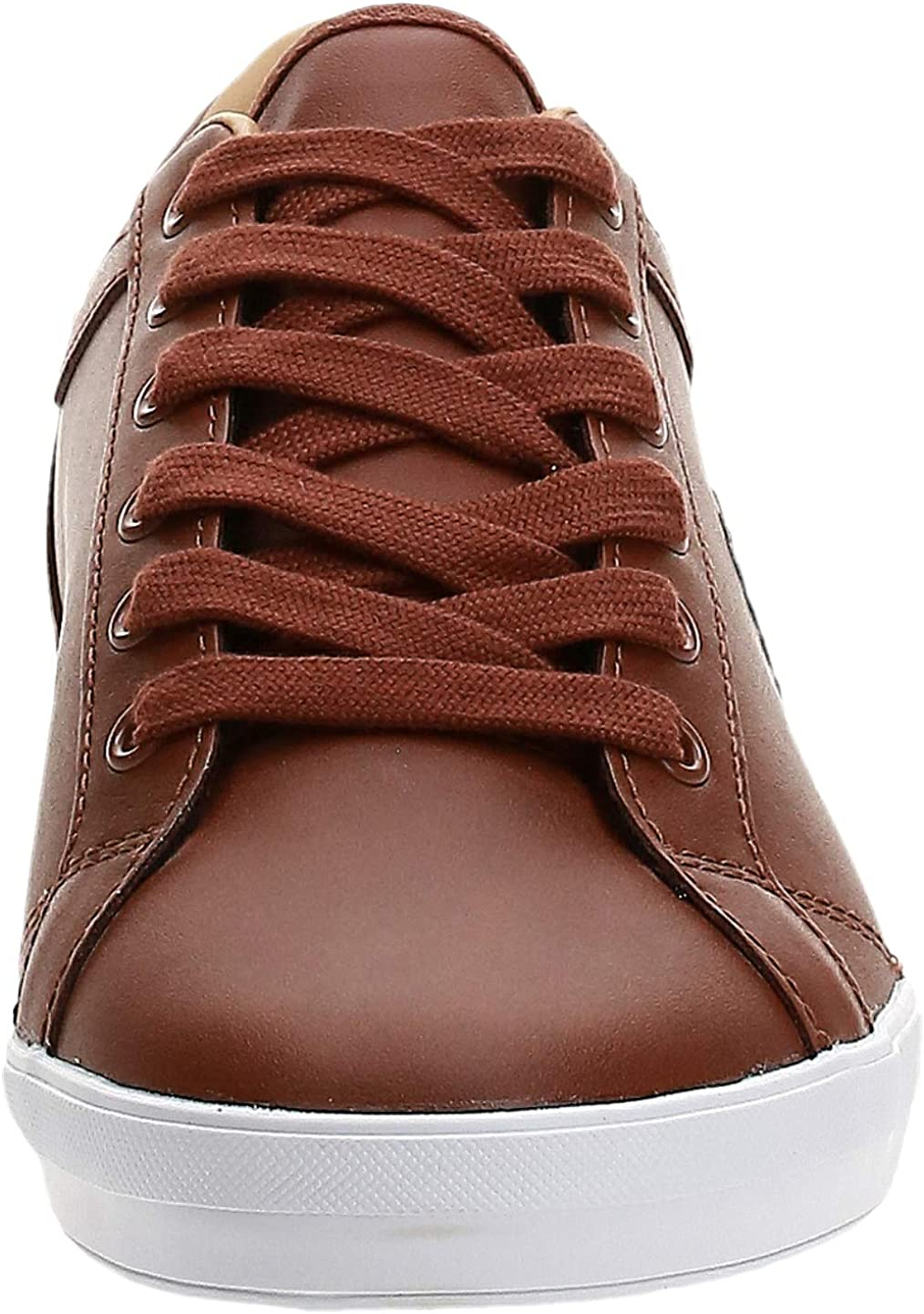 Fred Perry Baseline Leather B6158448, Turnschuhe Braun ILsk6 gXfda