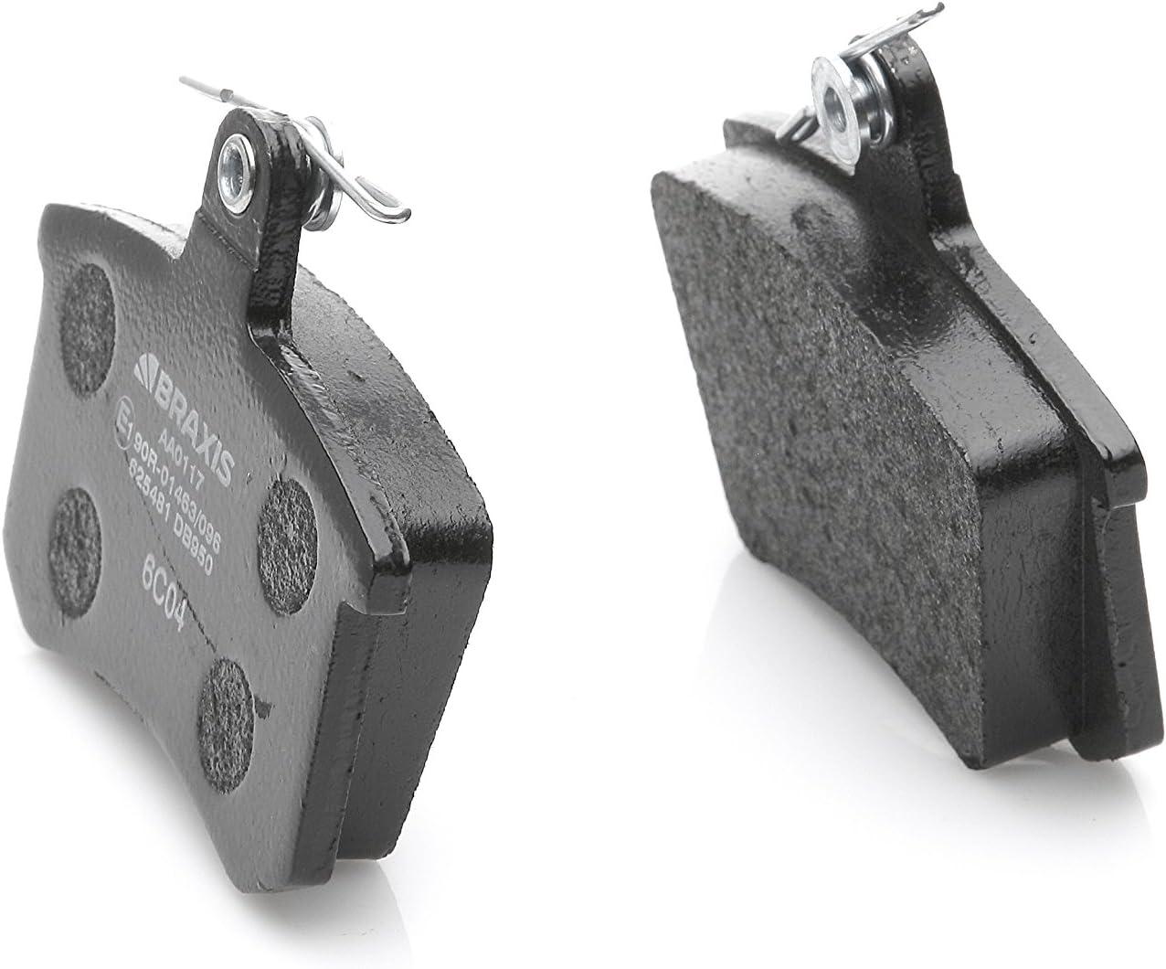 Braxis AA0117/Rear Brake Pad Set Set of 4