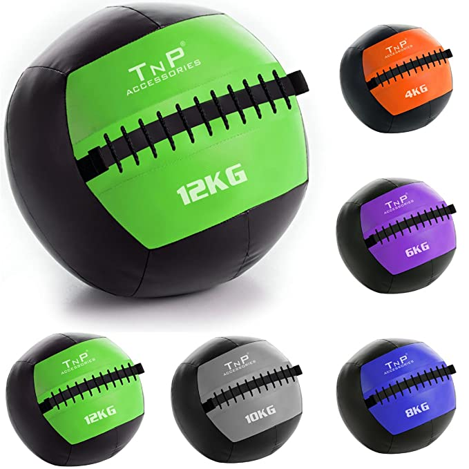 637450ec8 TNP Accessories.® Wall Ball Slam Balls - No Bounce Wallball Slamball Medicine  Crossfit Gym Boxing Fitness Training Ball Balls Wallballs (4.00)  ...