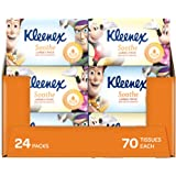 KLEENEX Facial Special Care Large and Thick Facial Tissues with Aloe Vera & Vitamin E in Kids design