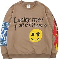 NAGRI Kanye Lucky me I See Ghosts Sudaderas sin Capucha Sweatshirts