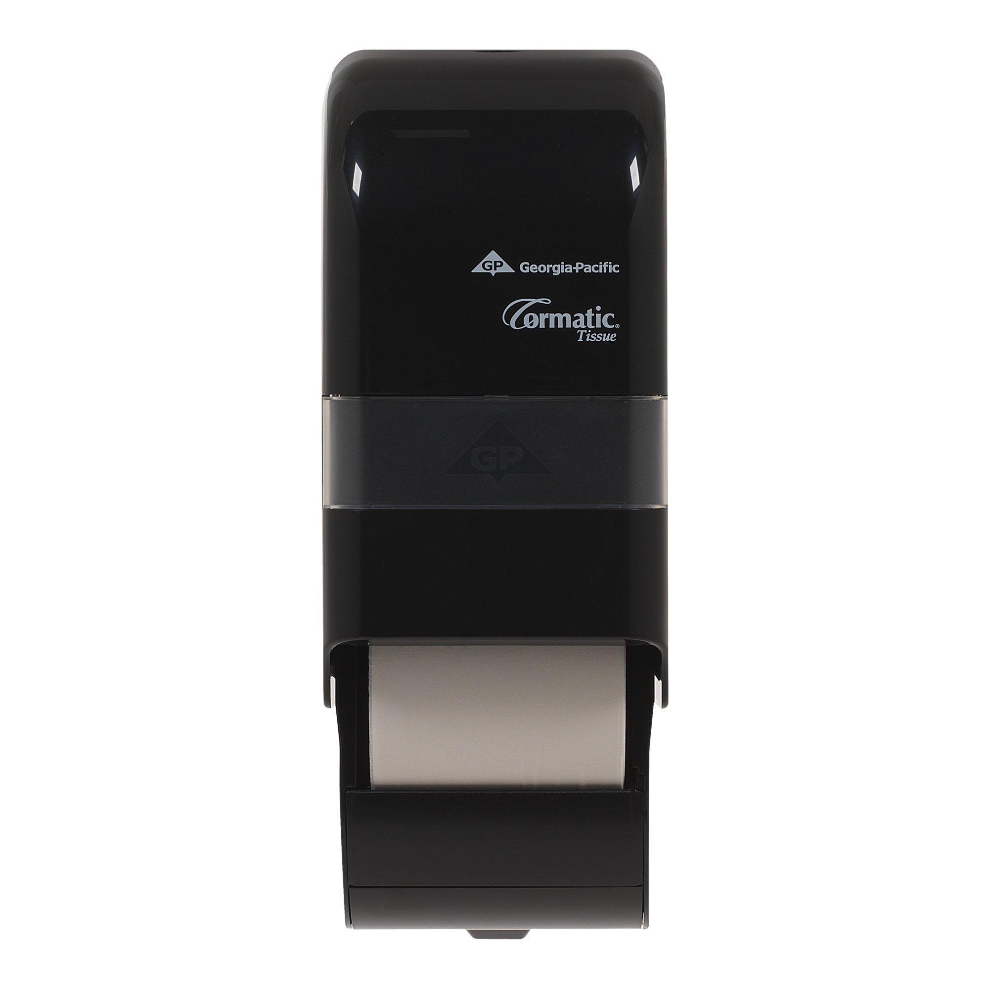 Georgia-Pacific DS0250B Cormatic Designer Series Vertical 2-Roll Bathroom Tissue Dispenser  (WxDxH) 5.810'' x 6.680'' x 14.320'' (1 Each)