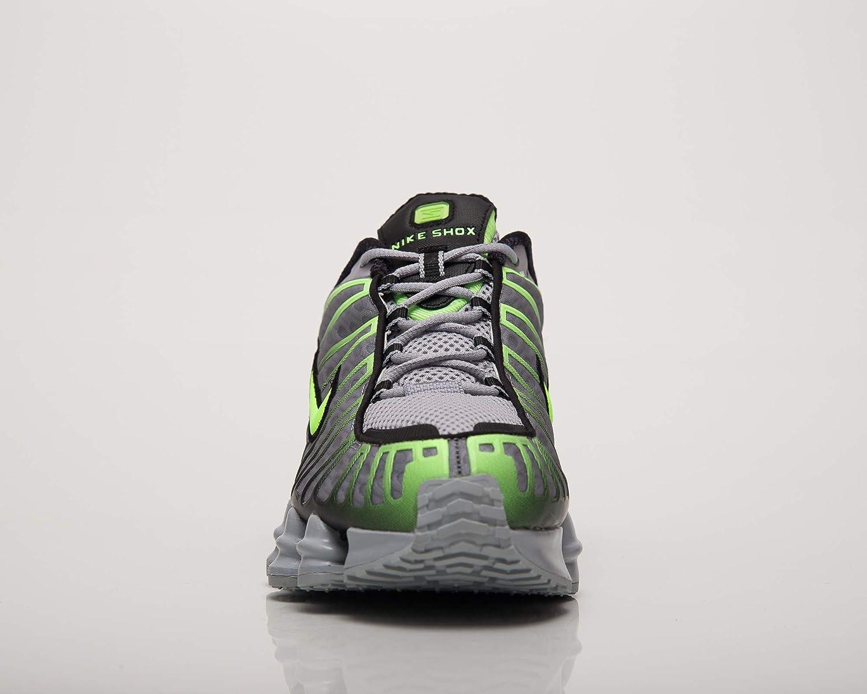Nike Shox TL AV3595-005 Color Gris y Verde Zapatillas para Hombre
