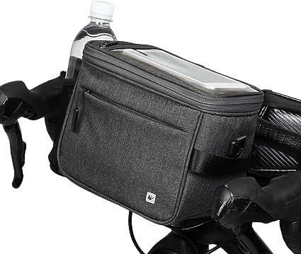 Rhinowalk Bicycle Handlebar Bags Storage Bag Commuter Shoulder Bag Waterproof Front Pack for Road Bike MTB Mountain Bike