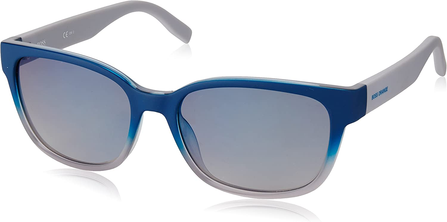 BOSS Orange 0251/S Dk Gafas de sol, Azul (BLUEE/FLASH BLUEE SKY), 55 Unisex-Adulto