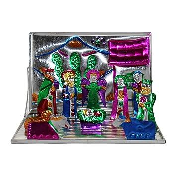Como Decorar Un Belen.Mini Belen 10 Cm Decorativa De Navidad Decorar Navidad