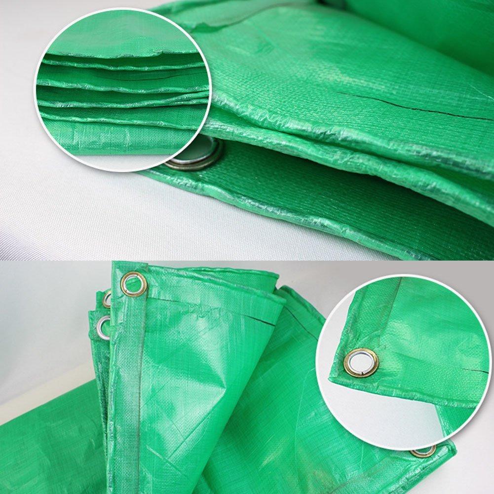 MEIDI Home Regenschutztuch wasserdicht Plane Ware Ware Ware Sonnencreme Isolierung Auto Abdeckung Regenschutz Sonnencreme Isolierung Antioxidans grün (Farbe   A, Größe   7 x 9m) B07N2HP6JB Zelte Stilvoll und charmant 93b317