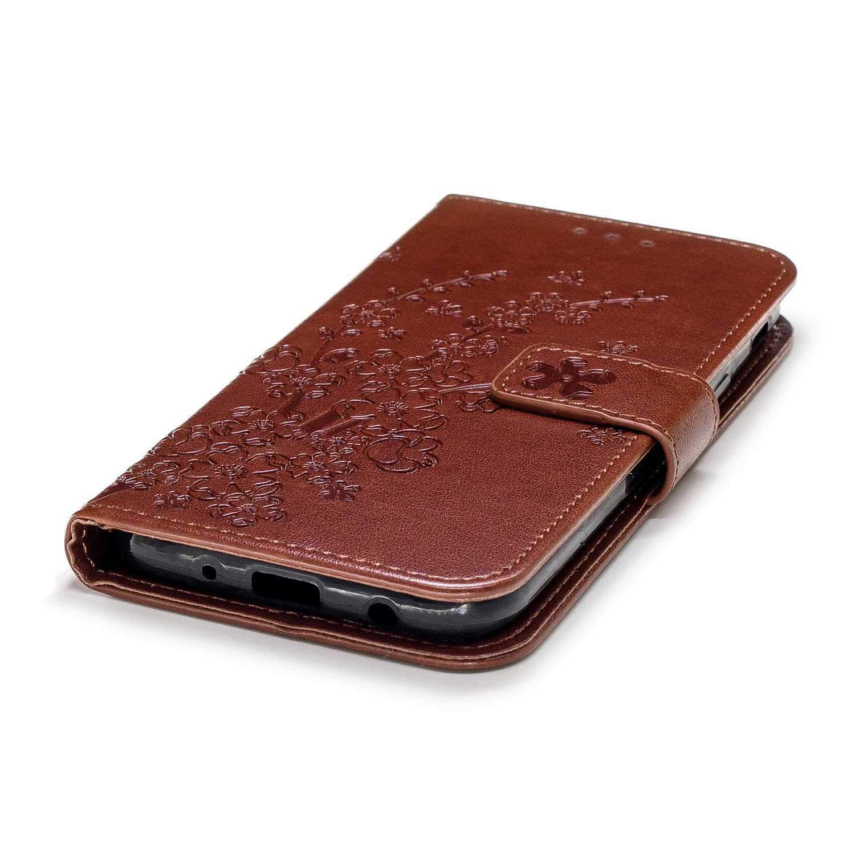 Bear Village/® Coque /à Rabat Magn/étique avec Slots pour ID et Cartes #1 Or Coque Galaxy J5 2017 Anti Choc Housse de Protection pour Samsung Galaxy J5 2017