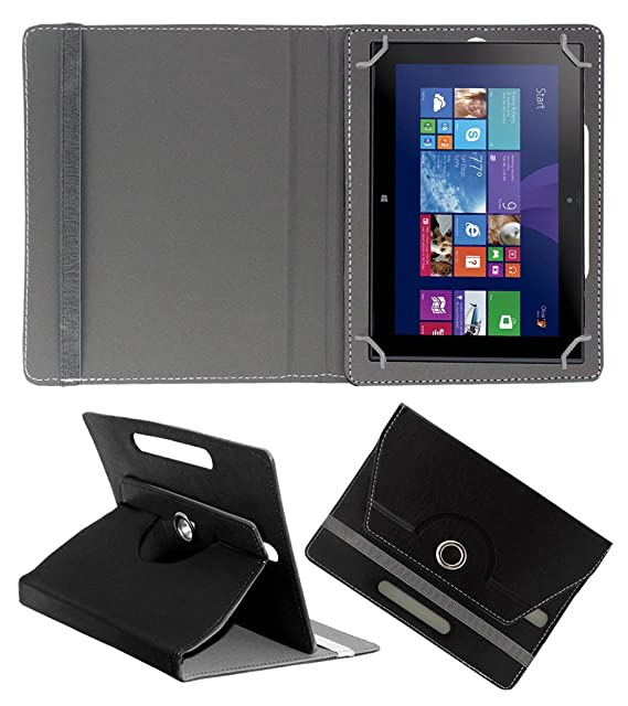 ACM Rotating 360 deg; Leather FLIP CASE for Nokia Lumia 2520 Tablet Stand Cover Holder Black Touch Screen Tablet Bags   Cases
