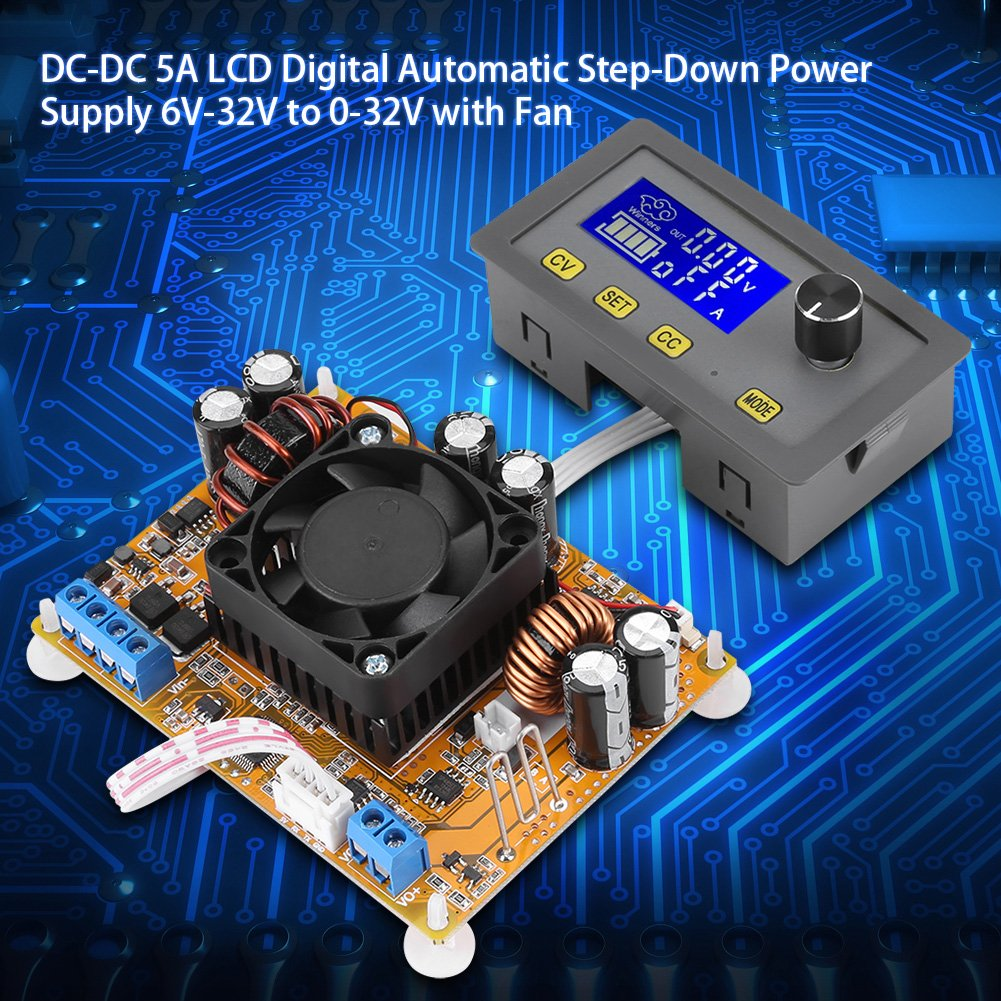 Dc Step Down Up Converter Automatic To Boost Supercap Charger Plus A 5v At 4a Buck From 55v 30v Power Supply Module6v 32v 0 With Fan Automotive