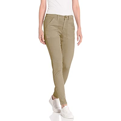 Brand - Daily Ritual Women's Stretch Cotton/Lyocell Utility Pant: Clothing