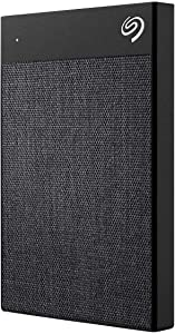 Seagate Backup Plus Ultra Touch 2TB Portable Hard Drive with Recovery Services