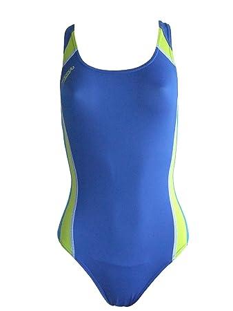 Speedo Schwimmanzug Badeanzug Endurance blau, Gr. 38  Amazon.de ... 900399b03d