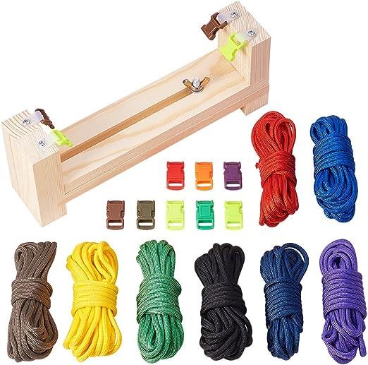 PandaHall Elite escalada de cuerda, Color mezclado, 230x140x80mm