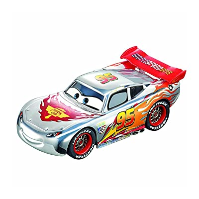 Disney/Pixar Cars - 2015 Silver Racing Series - Lightning McQueen: Toys & Games