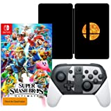 Super Smash Bros. Ultimate Game + Super Smash Bros. Ultimate SteelBook + Nintendo Switch Pro Controller Super Smash Bros. Ultimate Edition