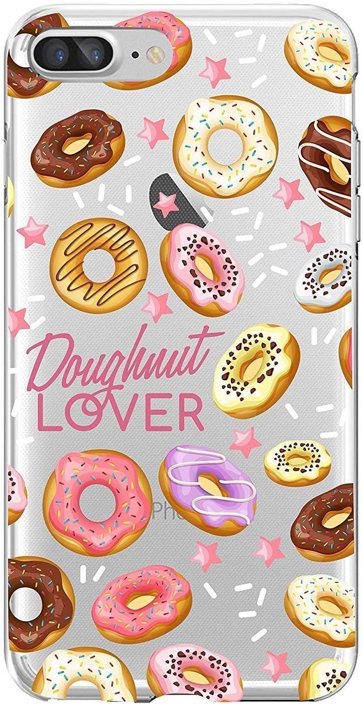 Shark Sweet Donut Doughnut Pattern case for iphone 6/6s plus(5.5-Inch)