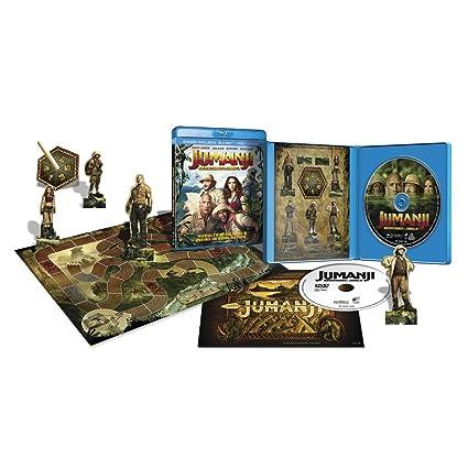 Jumanji: Bienvenidos a la jungla Blu-Ray + DVD + Juego: Amazon.es: Cine y Series TV