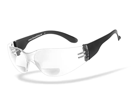 b256abf341d HSE Sporteyes – Gafas deportivas con lectura notebook integrados, SPRINTER  2.3 transparente + 1,