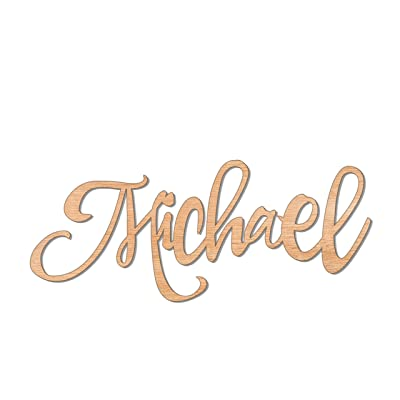 SofiClock Custom Name Nursery Wooden Sign 8-60 inch, Baby Shower, Baby Name Sign, Name Sign for Boy or Girl, Wedding Sign, Personalized Children's Room Sign Décor: Home & Kitchen