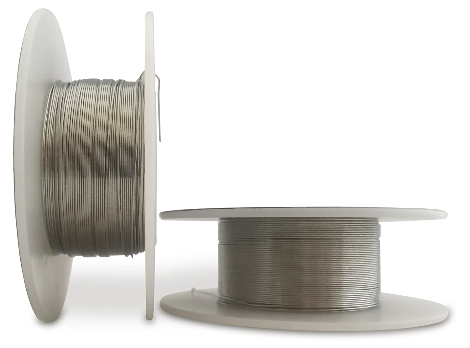 LifeMods Stainless Steel Wire AISI 316L spool AWG 26 gauge 100\' feet ...
