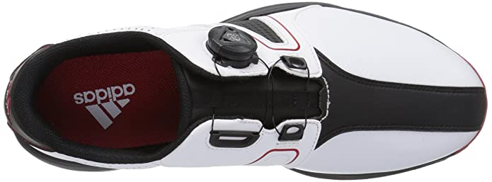 Adidas hombre 's 360 Traxion Boa ftwwht / CB zapato de golf golf