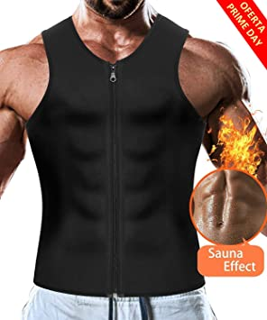 69986258d8 Neoprene Slimming Vest Weight Loss Shapewear Sauna Suit Hot Sweat Shirt