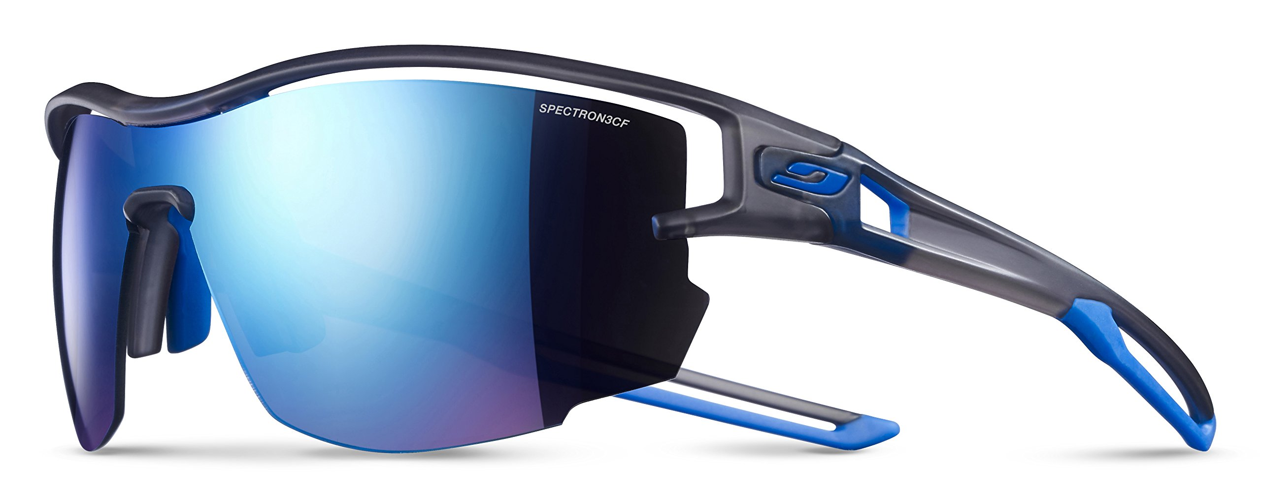 Julbo Aero Performance Sunglasses - Spectron 3CF - Translucent Gray/Blue