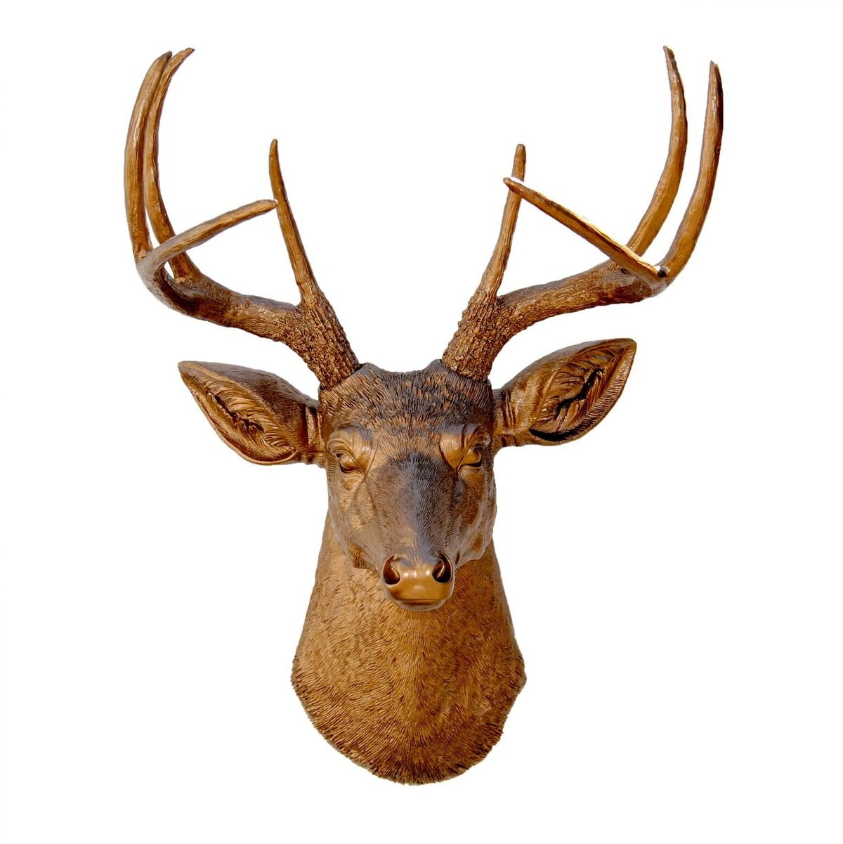 Amazon.com: Near and Deer Faux Taxidermy 8 Pt. Deer head Wall Mount,  White/Rose Gold: Home & Kitchen - Amazon.com: Near And Deer Faux Taxidermy 8 Pt. Deer Head Wall