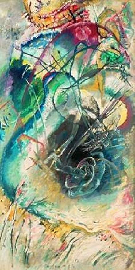 Wassily Kandinsky-Sans titre Improvisation III Wall art POSTER print