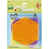 Perler Perler Fun Fusion Pegboards 5-Pack-Assorted Colors