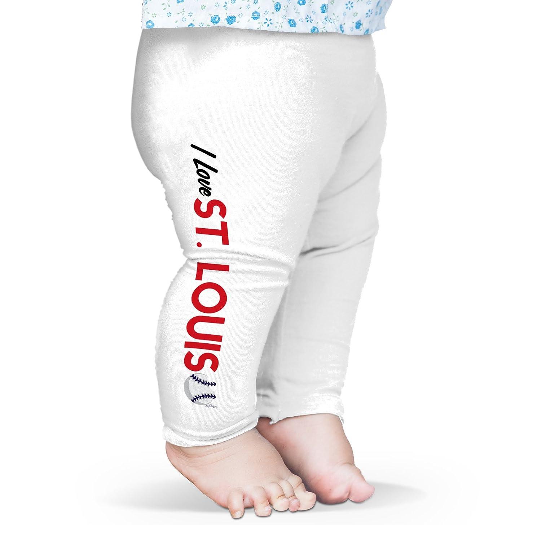 Twisted Envy I Love St Louis Baseball Baby Novelty Leggings Trousers