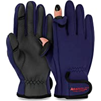 Thermo Angelhandschuhe 'Spin' | Neopren Angel Handschuhe | Anglerhandschuhe | Fishing Gloves