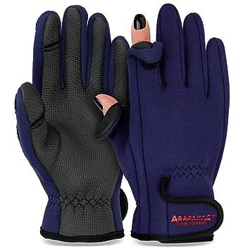 Neopren Handschuhe Thermo Outdoor Anglerhandschuhe Jagd Angeln Sport Fischen Angelsport