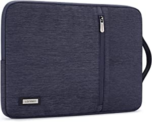 LONMEN 12.5 - 13 inch Laptop Sleeve Case Water-resistant Handle Bag for MacBook Pro Touch Bar/iPad Pro/Lenovo ThinkPad X1 Tablet/Dell Latitude 7290/ASUS ZenBook 13 UX331UN/13.9
