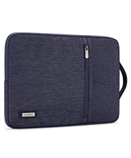 """LONMEN 10.1 Inch Laptop Sleeve Case Water-Resistant Tablet Protective Carrying Handle Bag for 10.5"""" iPad Pro/9.7"""" iPad Air 2/10"""" Surface Go/Samsung Galaxy Tab S2 S3 S4/10.1"""" Lenovo Yoga Tab 3,Blue"""