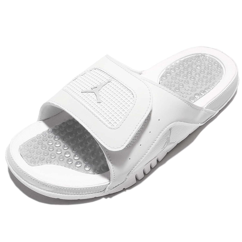 6c967856e956ec Nike Men s Jordan Hydro IV Retro Off White Metallic Silver Sandal 10 Men  US  Amazon.ca  Sports   Outdoors