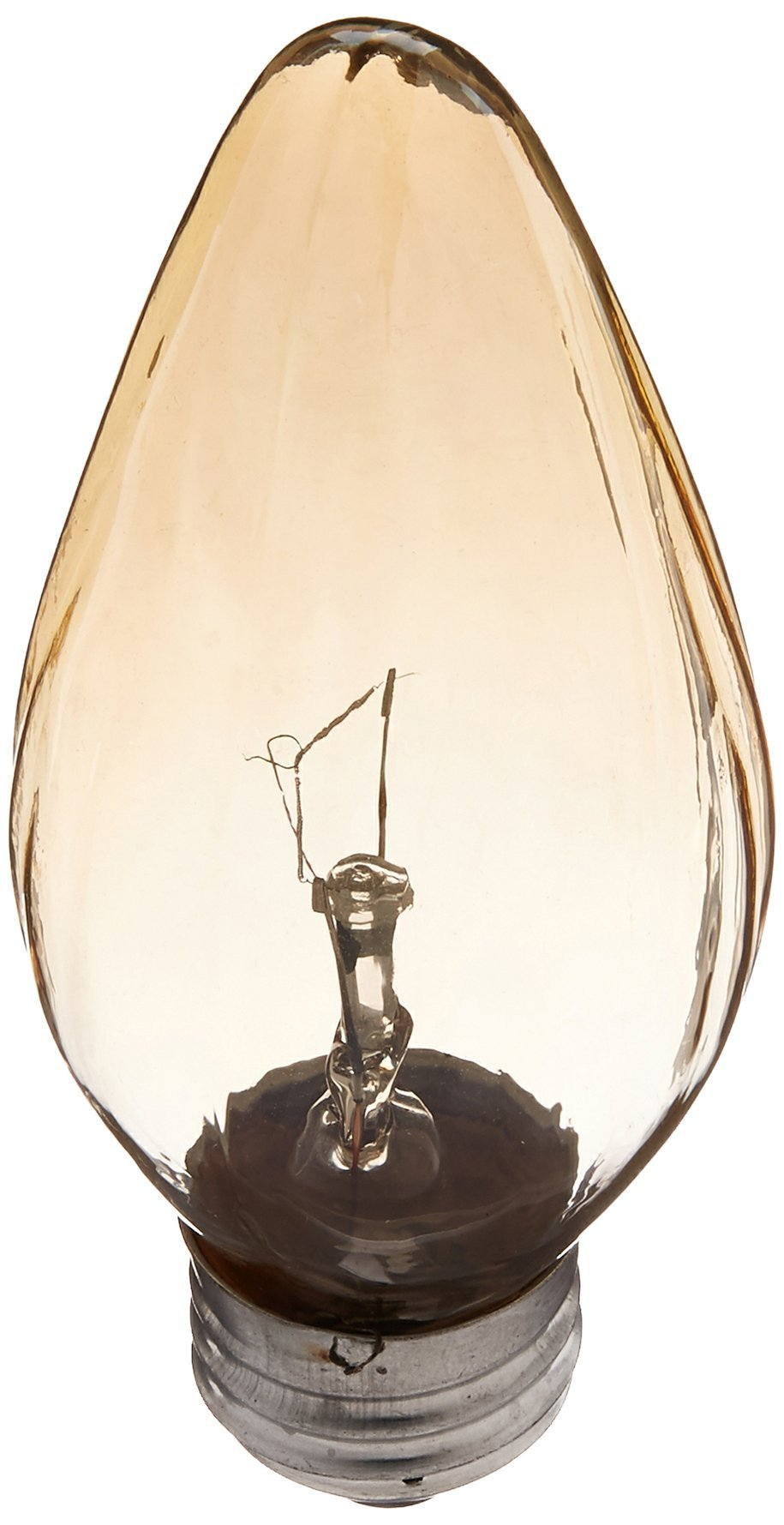 Sylvania 13823 - 25F/AIC/BL/2PK 120V F15 Decor Flame Tip Light Bulb 2 Lamps